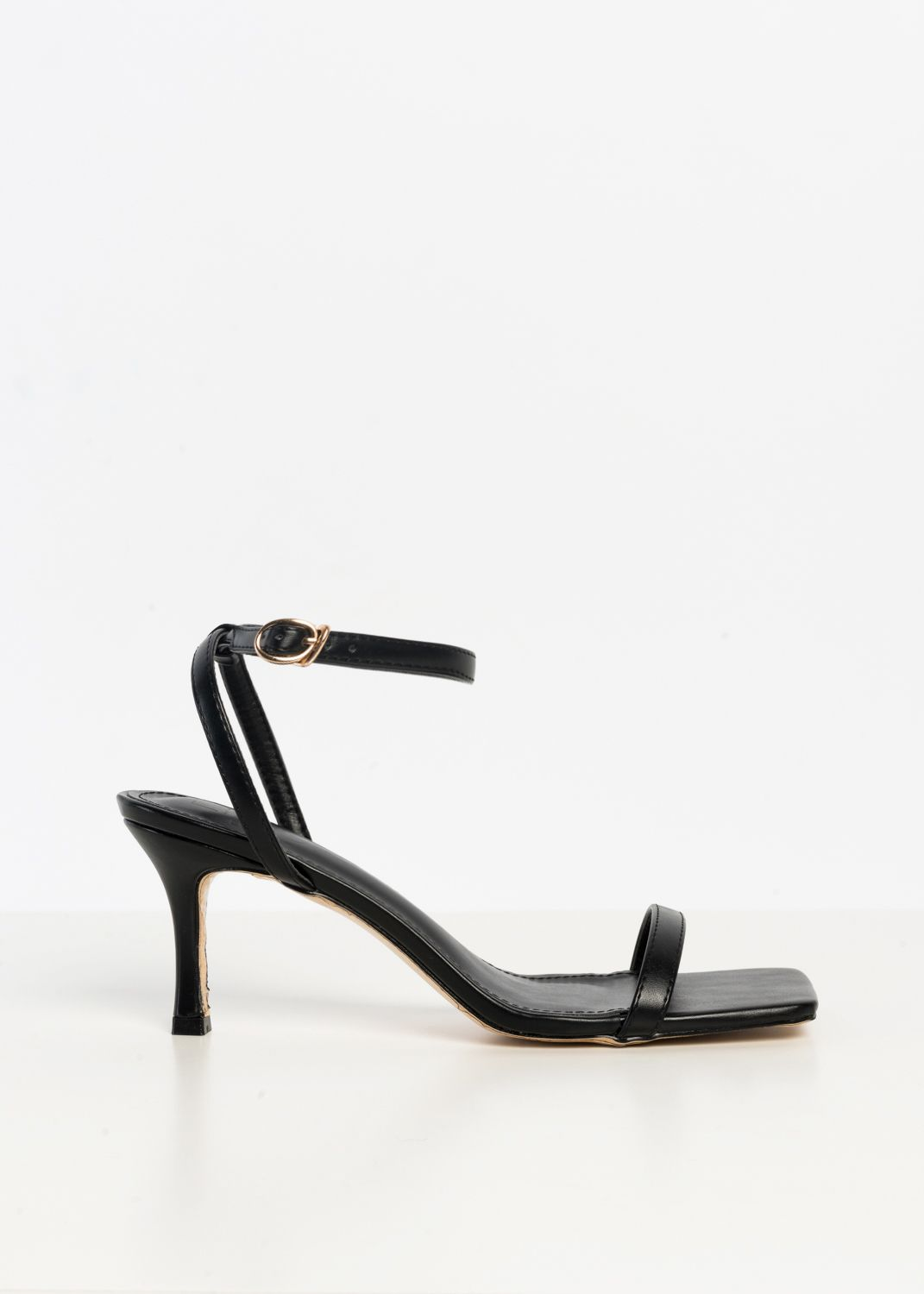 HIGH-HEEL SANDALS CON TOES SQUARE