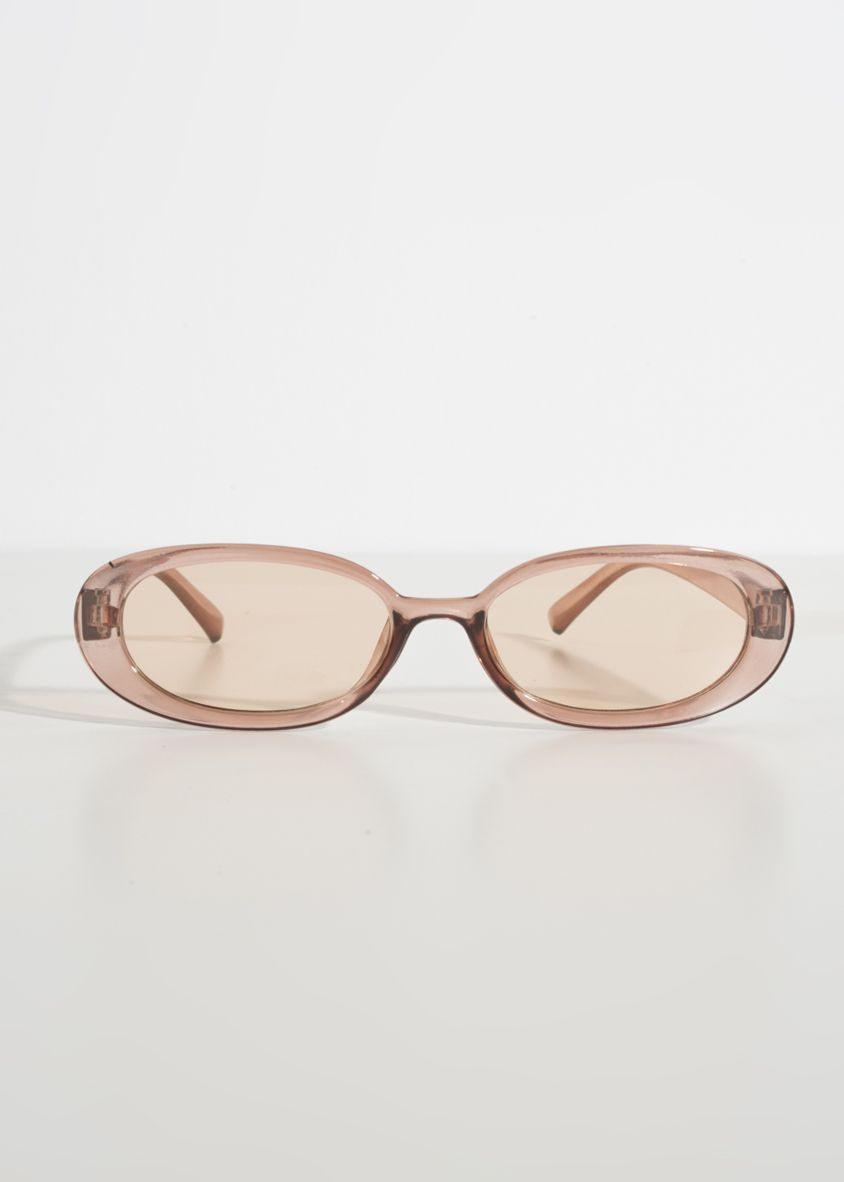 SUNGLASSES BROWN COLOR