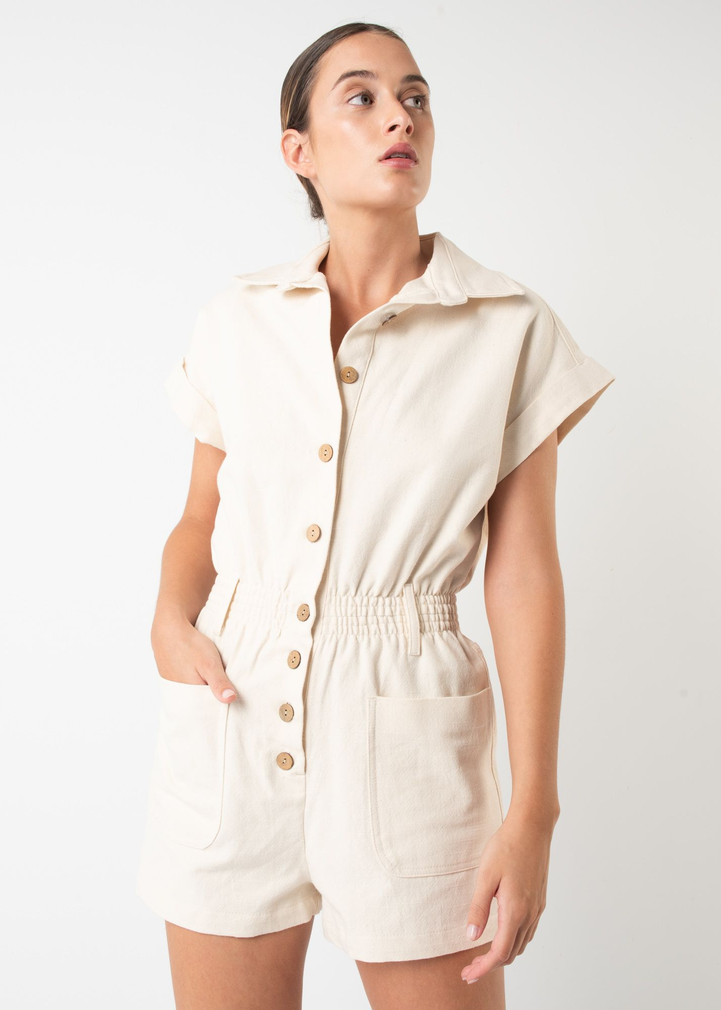 OXFORD PLAYSUIT