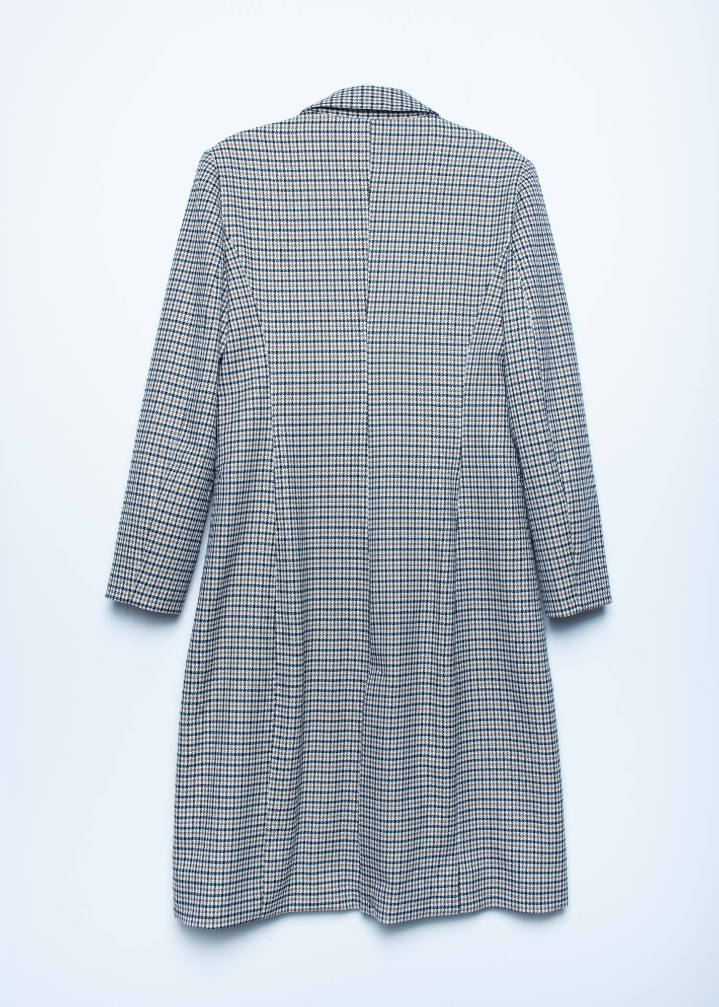 CAPPOTTO HOUNDSTOOTH